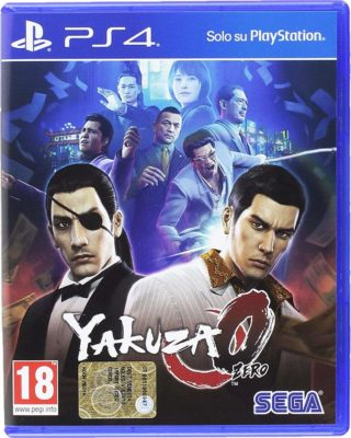 CPU Shop Ps4 Yakuza 0