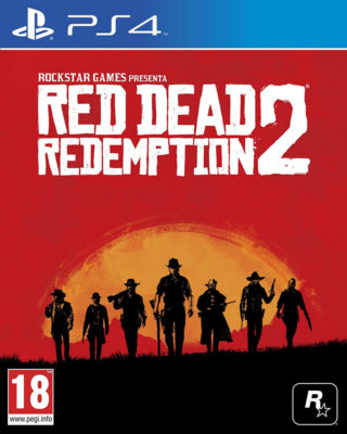 Red Dead Redemption 2 by Rockstar Games PS4 CPU Shop
