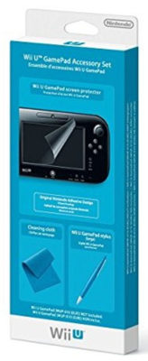GamePad Accessory Set Nintendo WiiU | CPU Shop