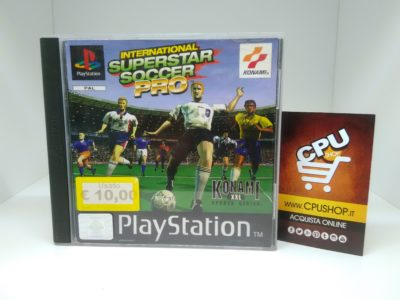 PlayStation 1 - INTERNATIONAL SUPERSTAR SOCCER PRO by Konami | CPU Shop