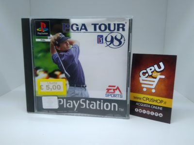 PlayStation 1 - PGA TOUR GOLF 98 by EA Sport | CPU Shop