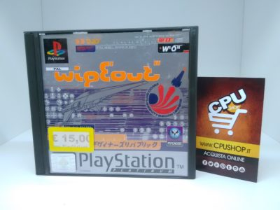 PlayStation 1 - WIPEOUT by Psygnosis | CPU Shop