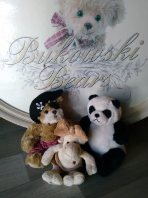 Peluche - Jie Jie Junior - PIRATA - Filip - Bukowski lotto | CPU Shop