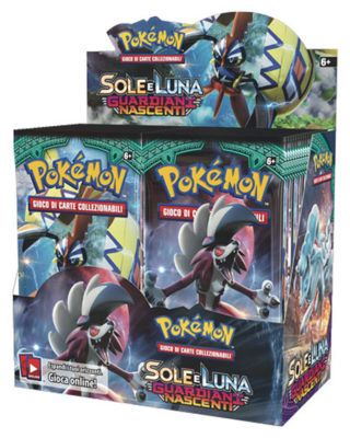 Pokemon Sole e Luna Guardiani Nascenti - Card - CPU Shop