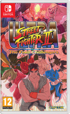 Ultra Street Fighter II: The Final Challengers by Capcom Switch | CPU Shop