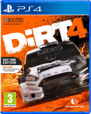 DIRT 4 DAY1 EDITION by Codemasters PS4   CPU Shop