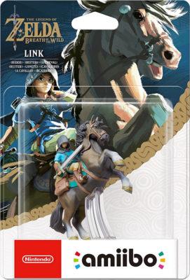 NINTENDO Amiibo - Link a cavallo