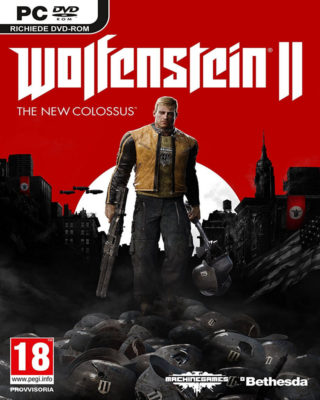 Wolfenstein II: The New Colossus by Bethesda Softworks PC | CPU Shop
