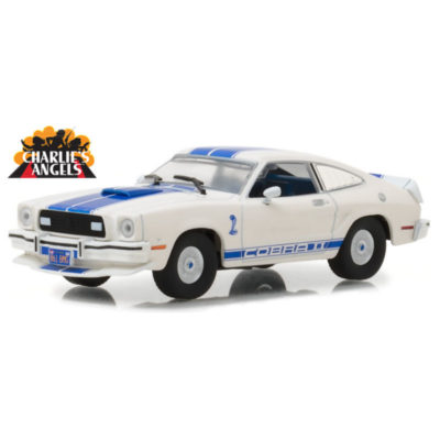 GREENLIGHT - 1/43 - 1976 Ford Mustang Cobra II - Charlie's Angels 1976–1981 TV Series | CPU Shop