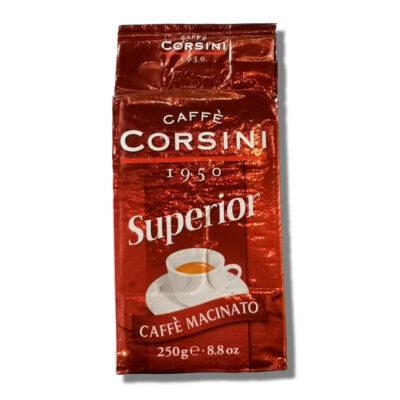 Caffè Corsini - Superior - 250g caffè torrefatto e Macinato per MOKA