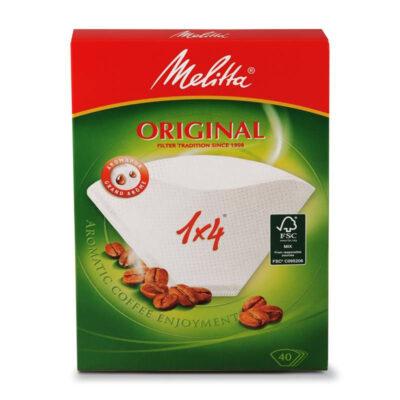 Caffè Corsini - FILTRI MELITTA 1/4 Confezione da 40 filtri