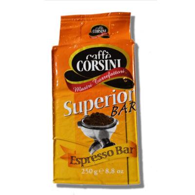 Caffè Corsini - Superior - 250g caffè torrefatto e Macinato per macchine Espresso