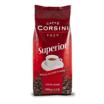 Caffè Corsini – Superior - Caffè in GRANI - Confezione da kg 1