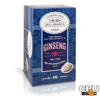 Caffè Corsini - Puro Arabica con Vero Estratto al GINSENG - 16 Cialde